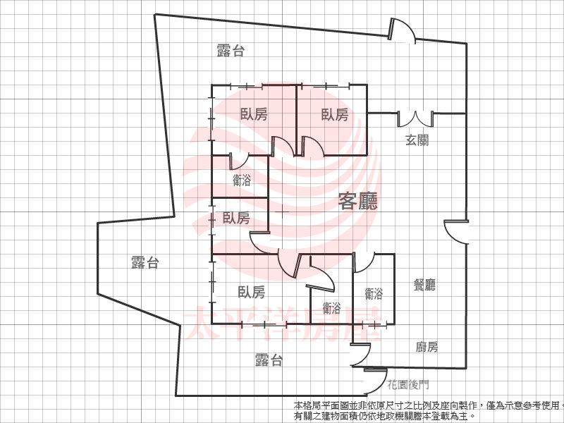 巴黎花園一樓庭院豪邸,台北市中山區基湖路