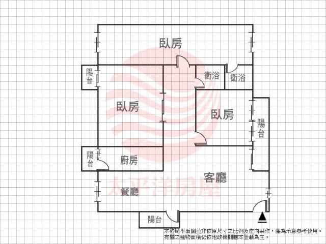 大直綠洲3房,台北市中山區北安路